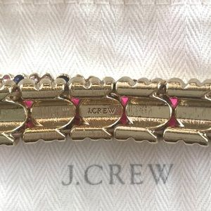 J. Crew Jewelry - J. Crew Crystal Stretch Bracelet